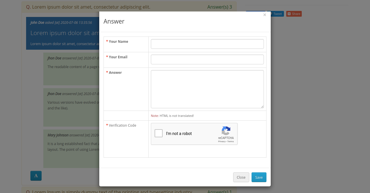 webkul-opencart-product-question-answers-add-answer-when-customer-not-logged-in