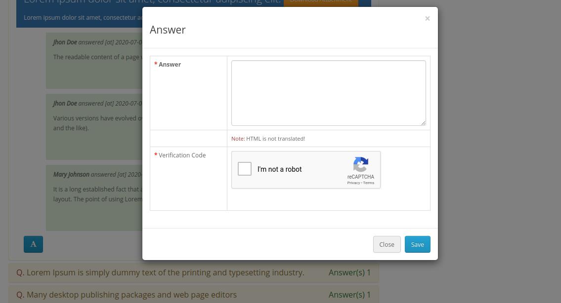webkul-opencart-product-question-answers-add-answer