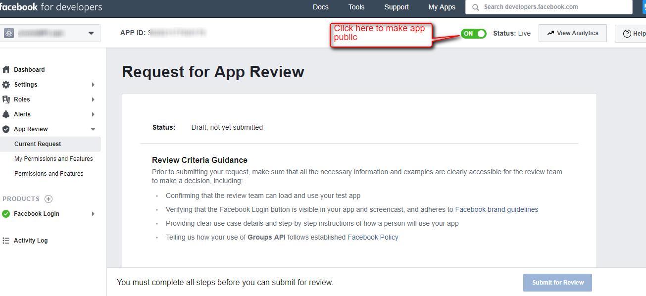 Create Facebook Access Token For Web Applications - Webkul Blog