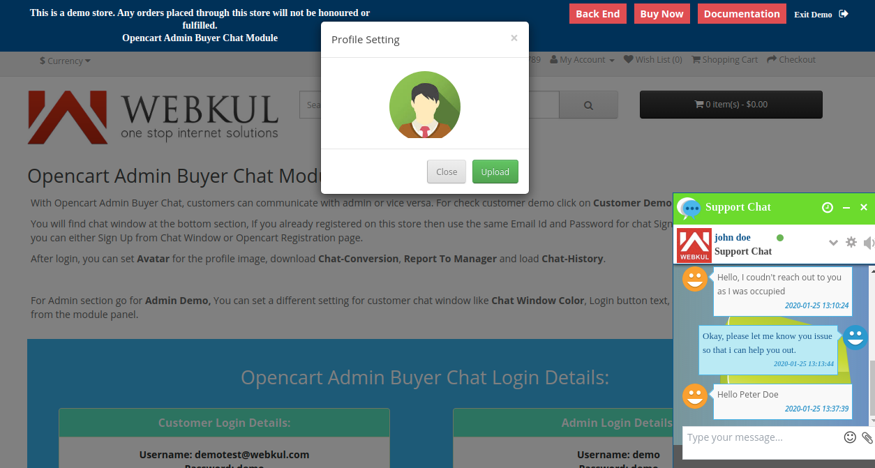 webkul-opencart-admin-buyer-chat-change-profile-photo