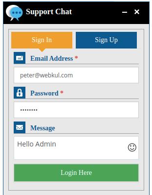 webkul-opencart-admin-buyer-chat-login-details