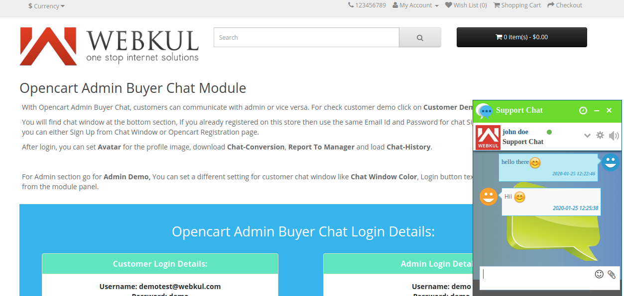 webkul-opencart-admin-buyer-chat-registered-user