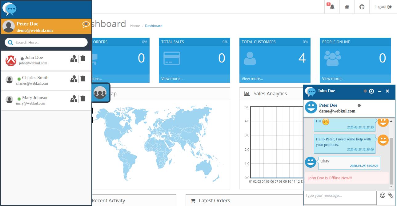webkul-opencart-admin-buyer-chat-status-displays-offline-to-admin