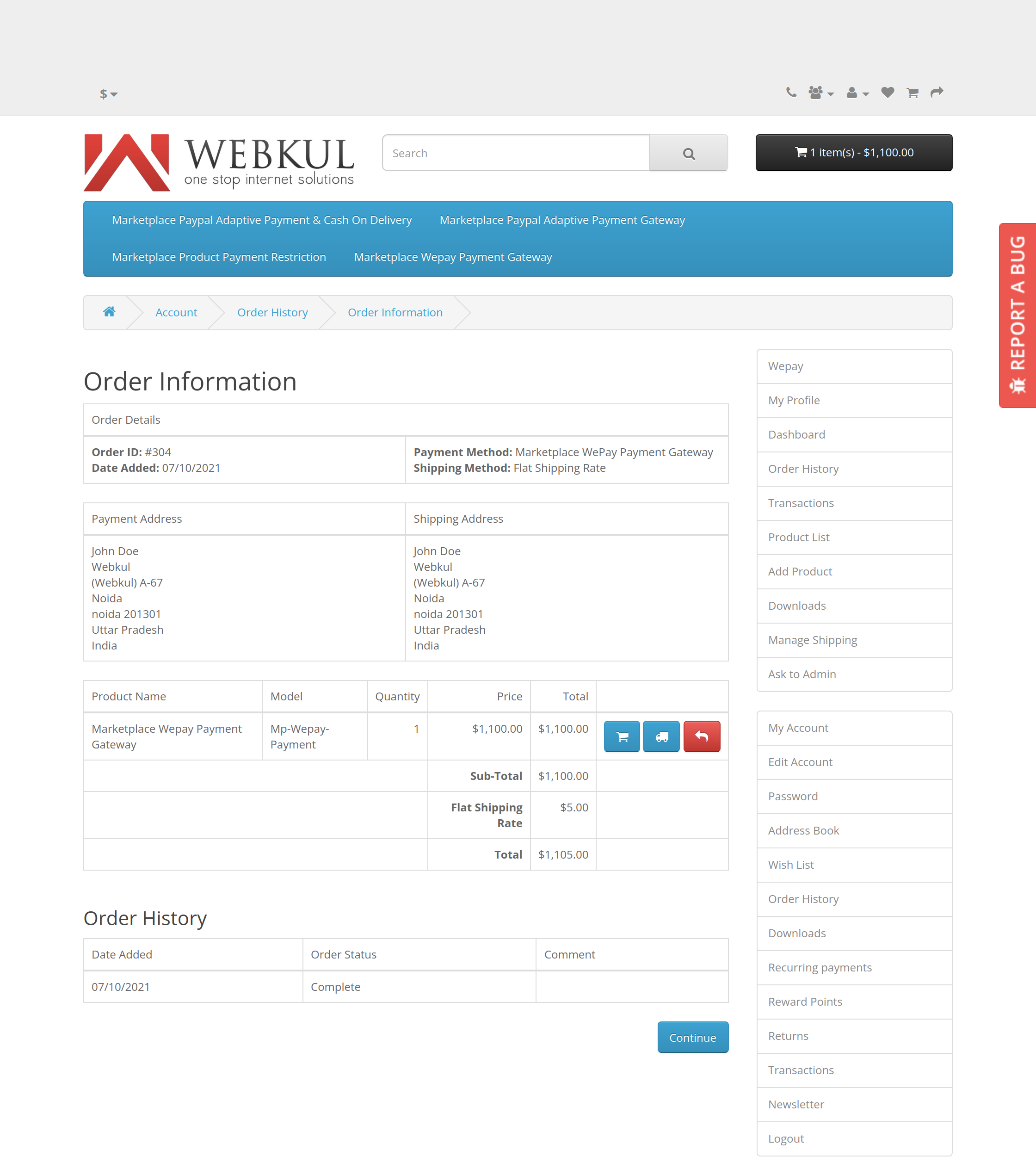 opencartdemo.webkul.com_mp-adaptive-paypal-103-80-65-178-demo_index.php_routeaccount_order_infoorder_id304-1