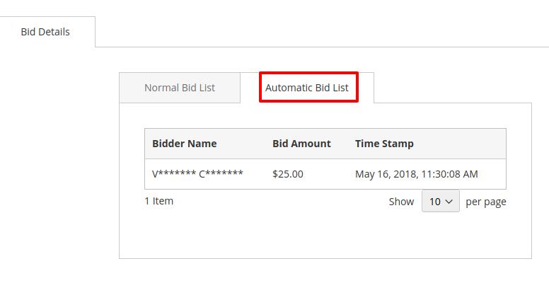 webkul-Auction-Magento2-customer-automatic-bidder-list