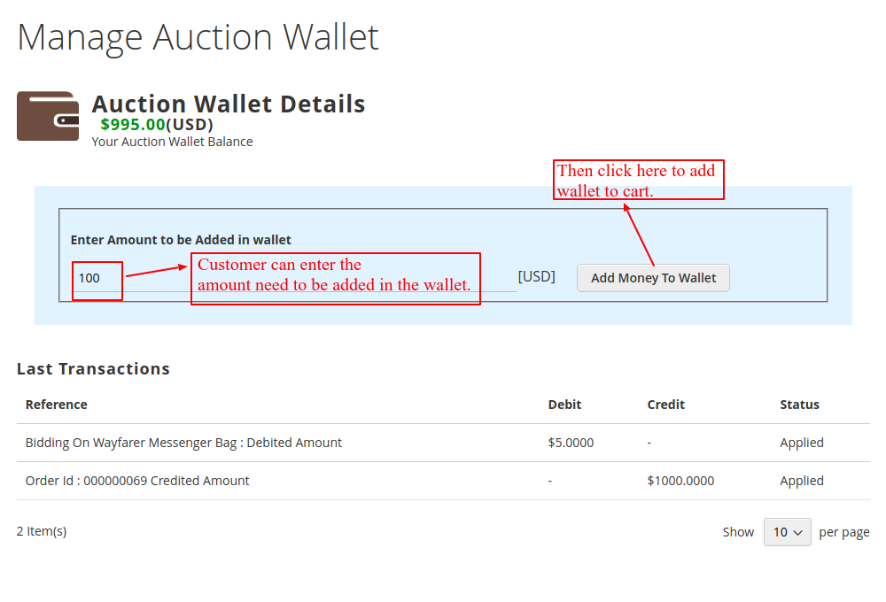 webkul-Auction-Magento2-customer-wallet