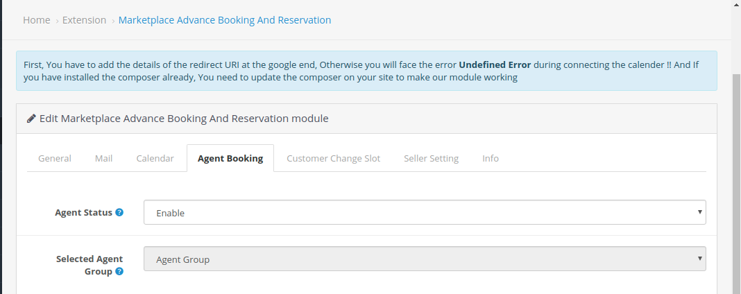 Agent-Booking-OC-MP-advance-booking-reservation