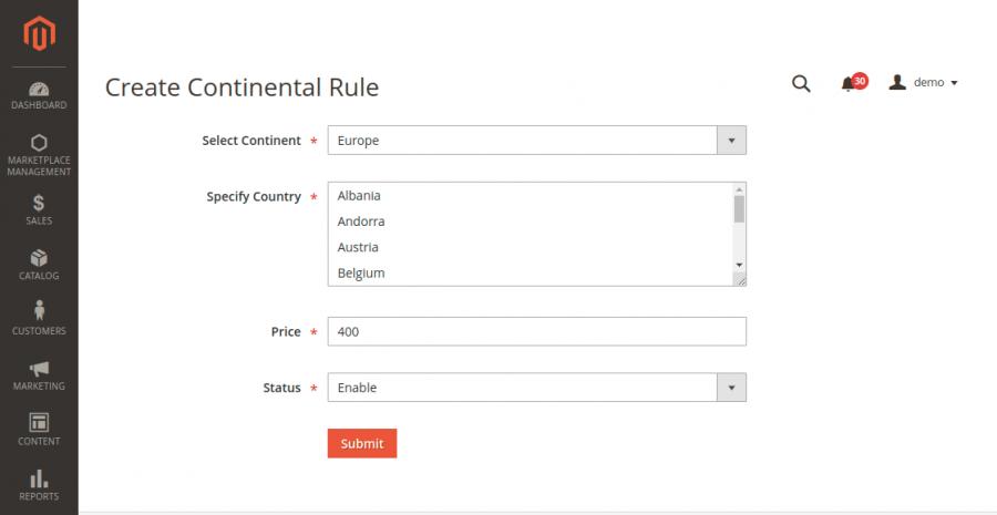 Create-Continental-Rule