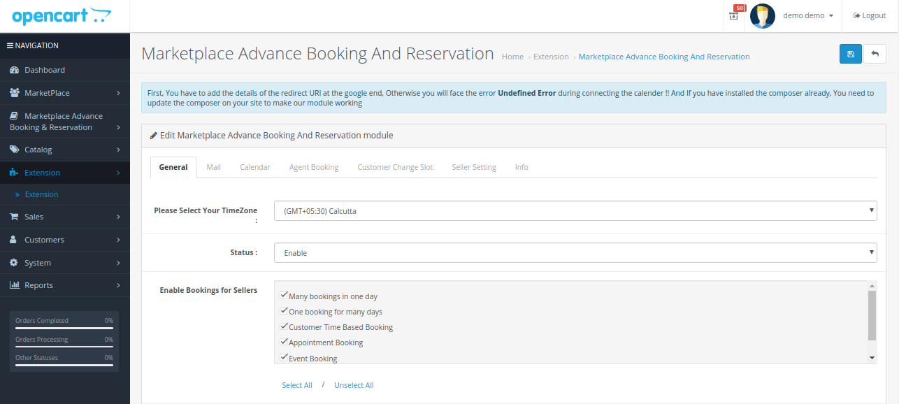 General-setting-opencart-mp-booking-reservation