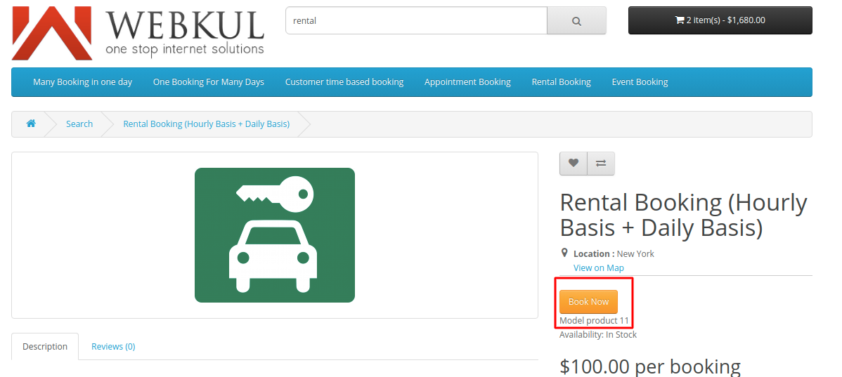 Rental-booking-for-daily-and-hourly-basis-customer-end