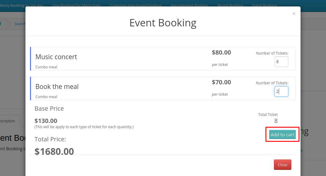 add-to-cart-event-booking