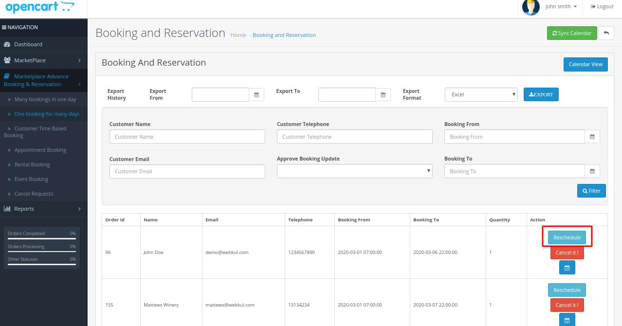 reschedule-booking-agent
