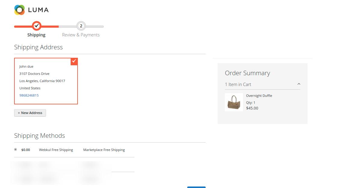 webkul_magento2_free_shipping_customer_view_shipping_page_3