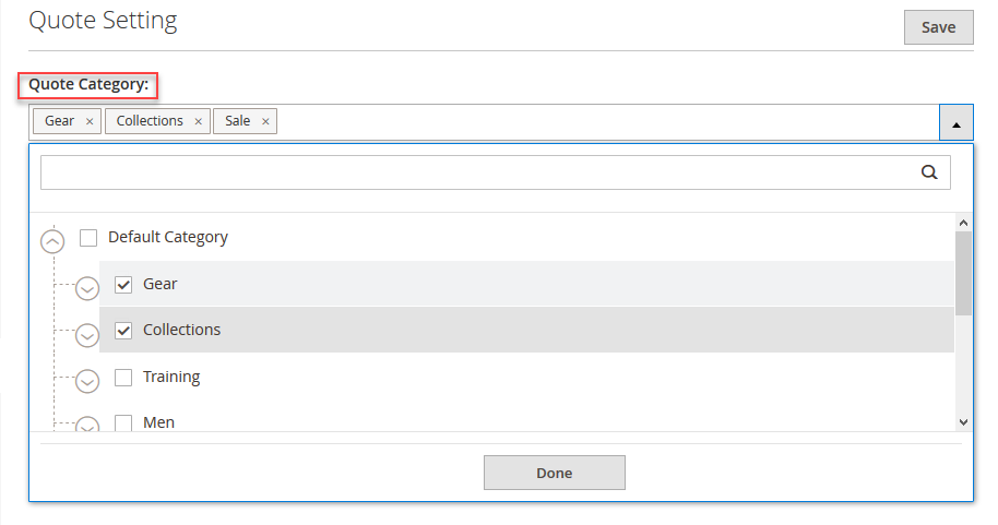 seller quote settings magento 2