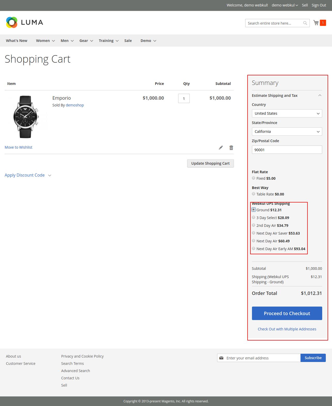 webkul-magento2-ups-shipping-shopping-cart.png