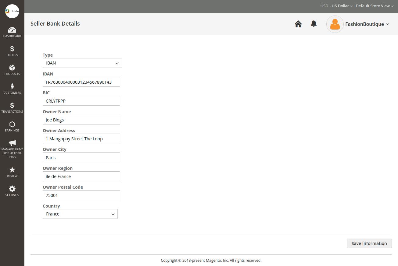 webkul-magento2-marketplace-mangopay-payment-gateway-save-bank-details