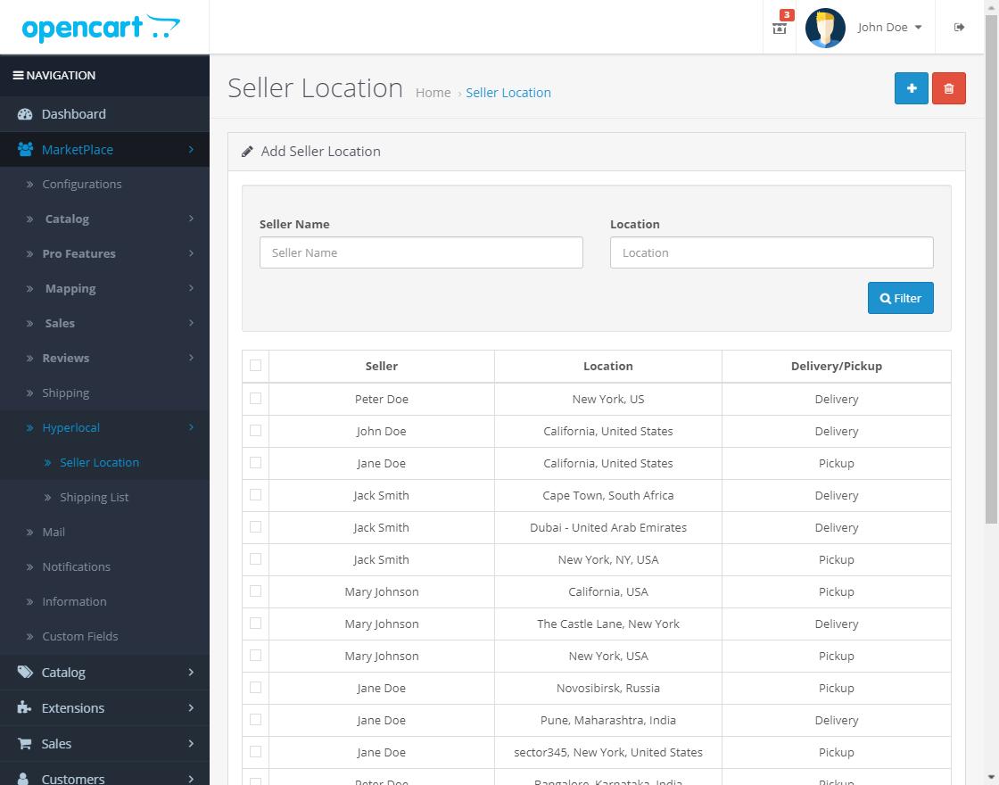 webkul-opencart-marketplace-hyperlocal-system-ADMIN-SELLER-LOCATION