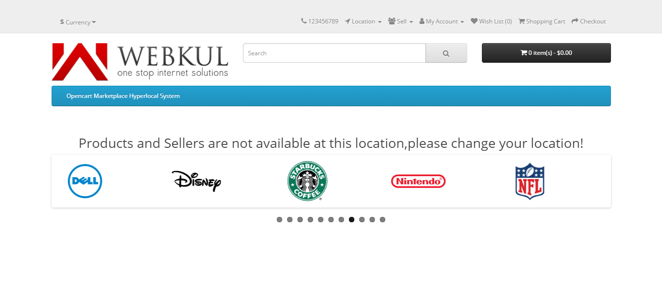 webkul-opencart-marketplace-hyperlocal-system-module-no-products-available