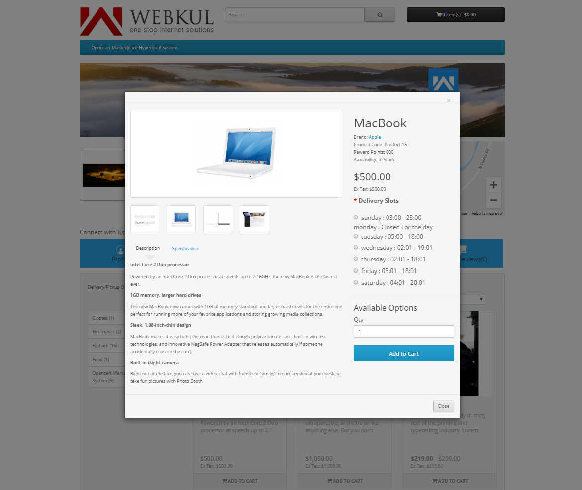webkul-opencart-marketplace-hyperlocal-system-product-page