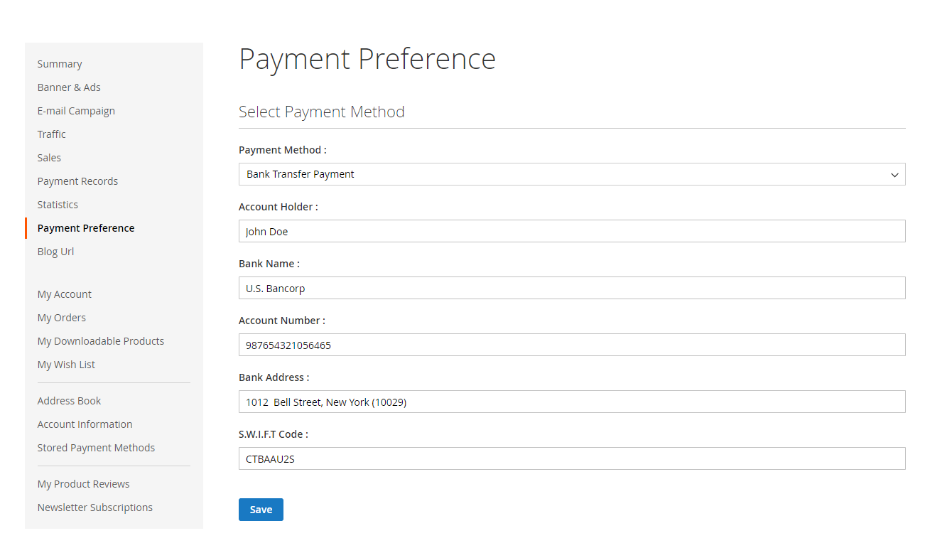 Webkul-Magento2-Affiliate-System-Affiliate-Payment-Preference