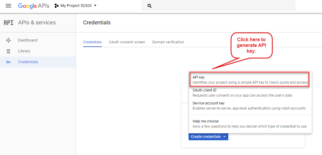 OpenCart Accelerated Mobile Pages api key