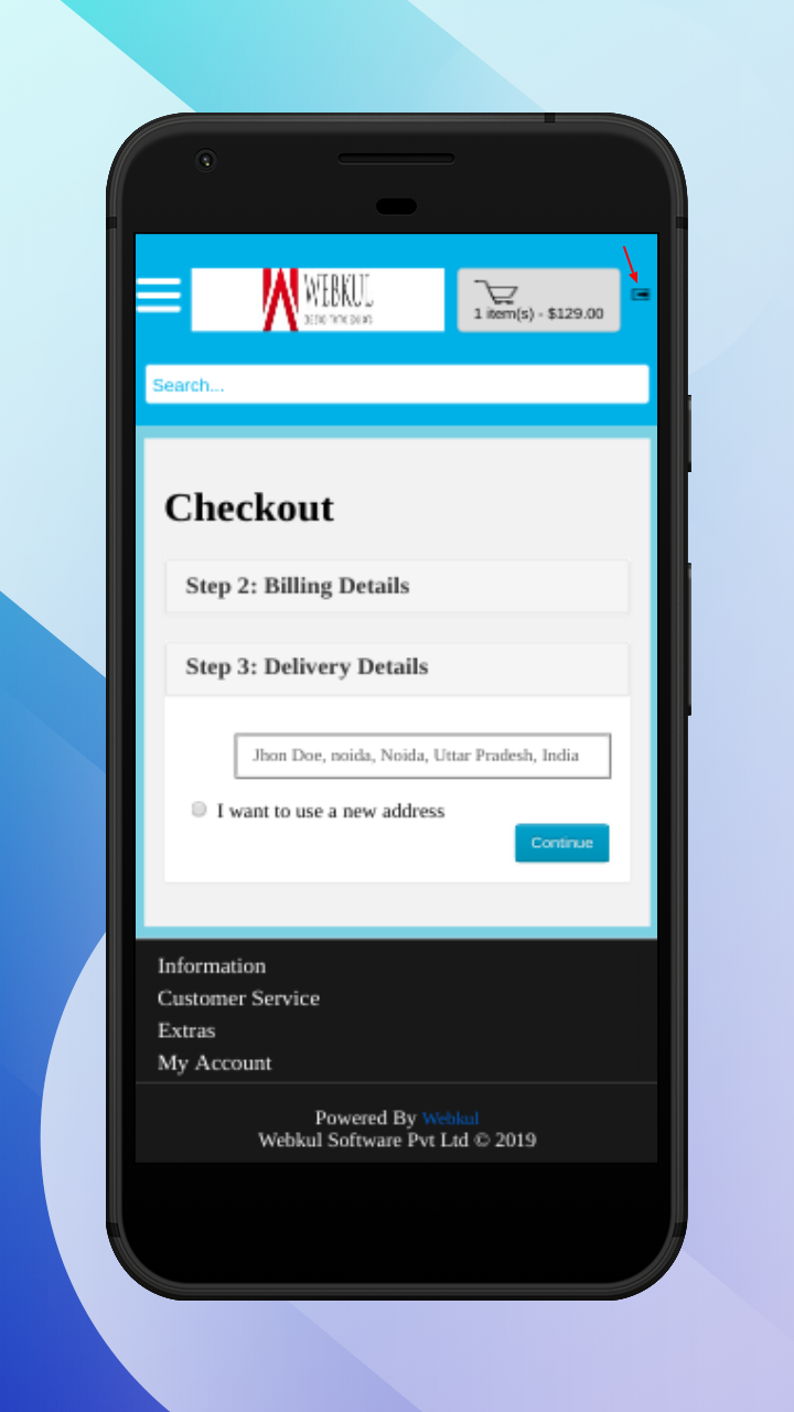 OpenCart Accelerated Mobile Pages-logout