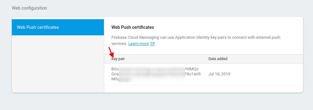 web-push-certificates