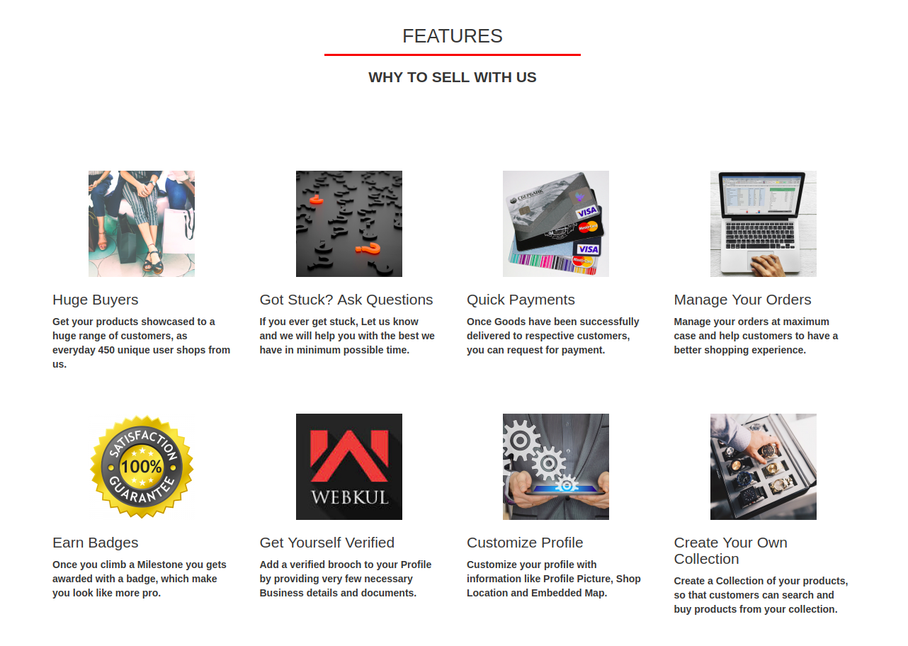featured front-end