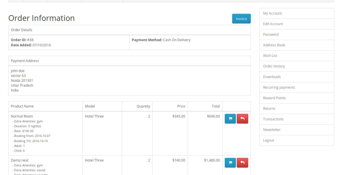 How To Generate Simple Pdf Invoice Using Fpdf Library Webkul Blog