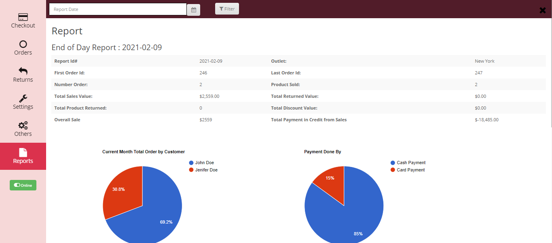 pos-terminal-daywise-sales-report