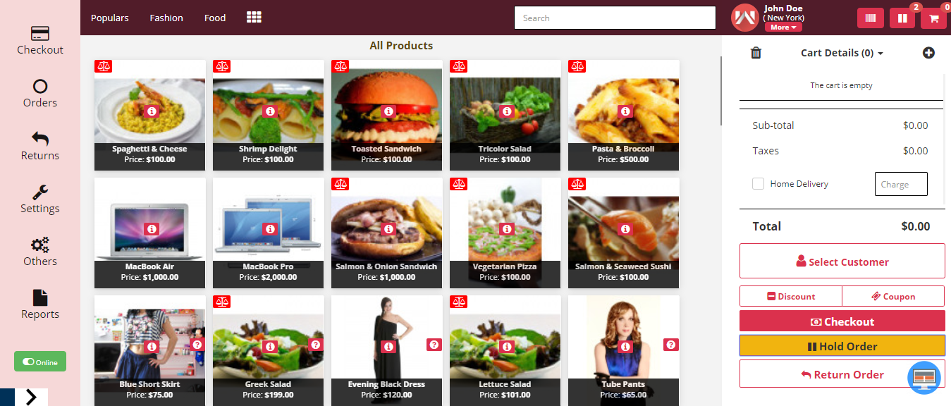 webkul-opencart-point-of-sale-homepage