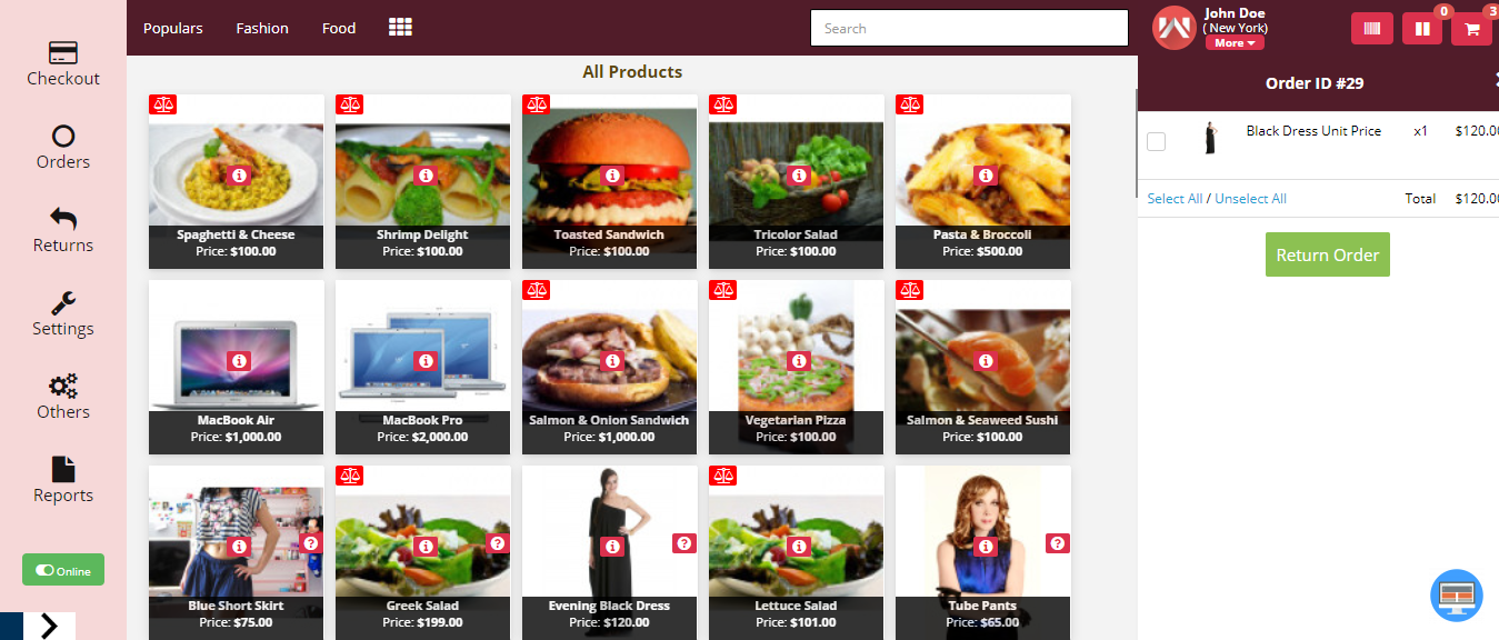 webkul-opencart-point-of-sale-order-return-click