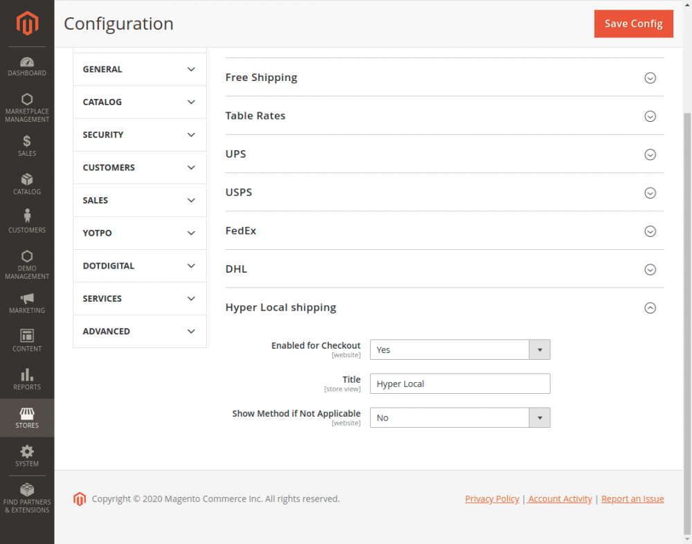 Magento2 Marketplace Hyperlocal System - Hyper-Local-shipping