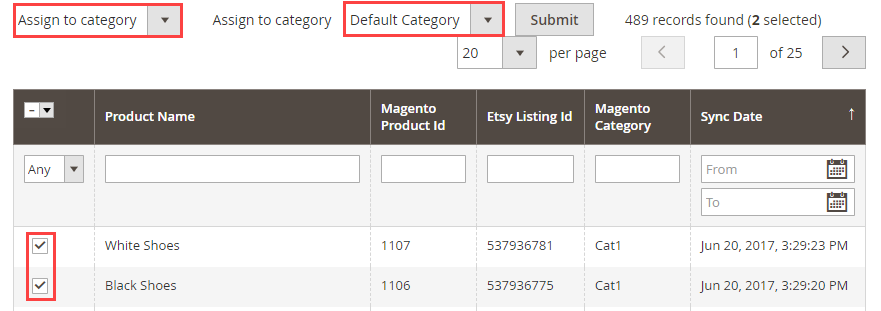 Etsy Connector For Magento 2