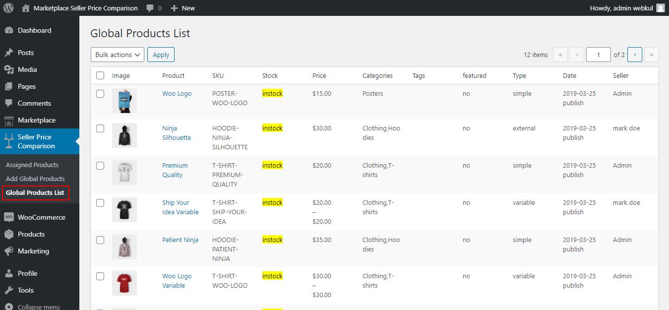 webkul-woocommerce-marketplace-single-seller-checkout-admin-global-product-list