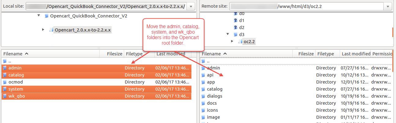 Opencart QuickBooks Connector_installation