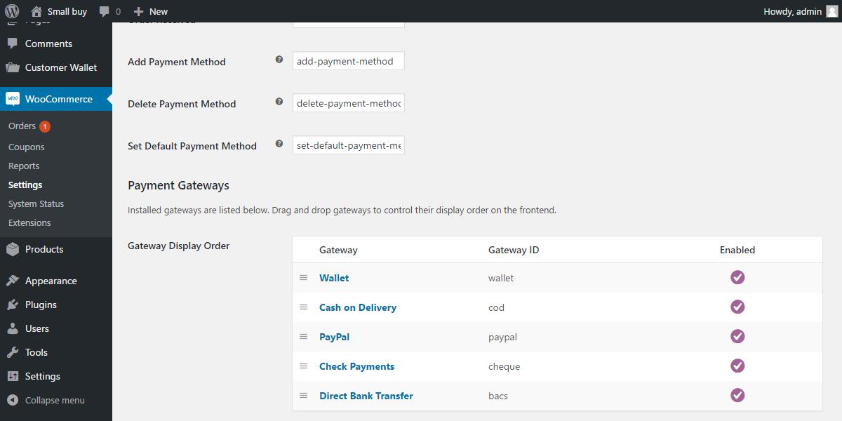 WordPress WooCommerce Wallet System