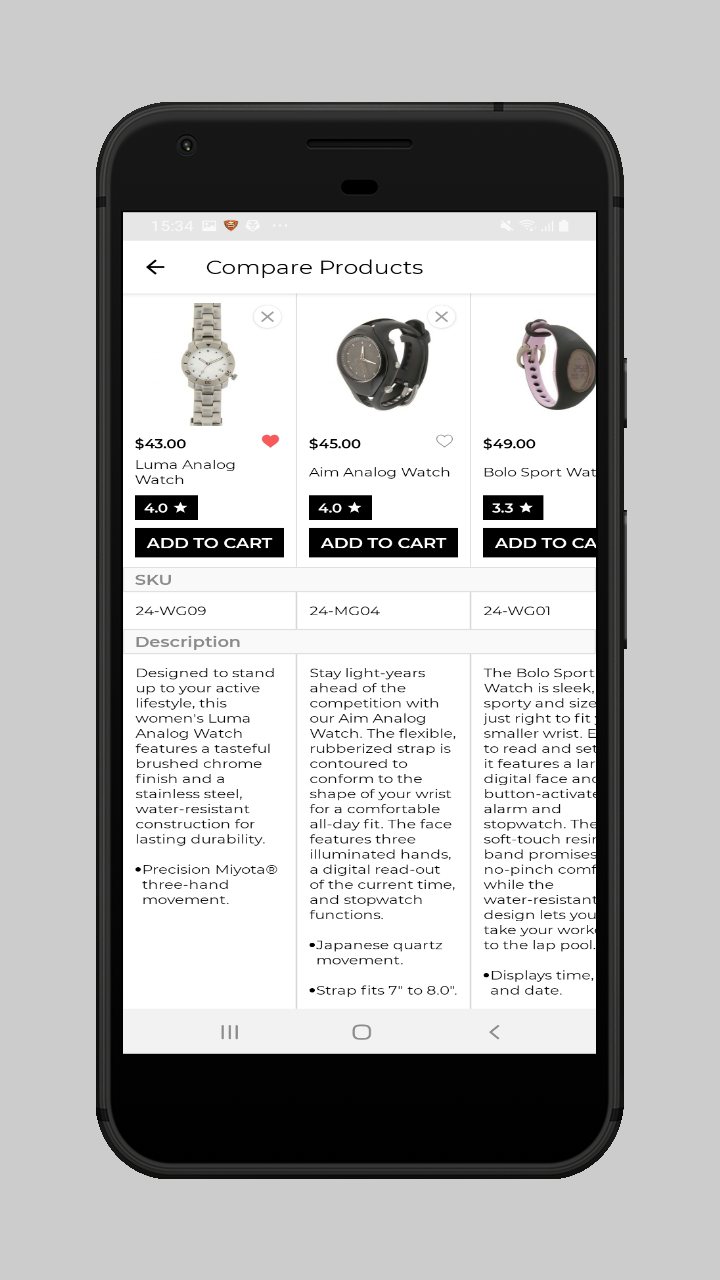webkul-magento2-ecommerce-marketplace-mobile-app-compare-products
