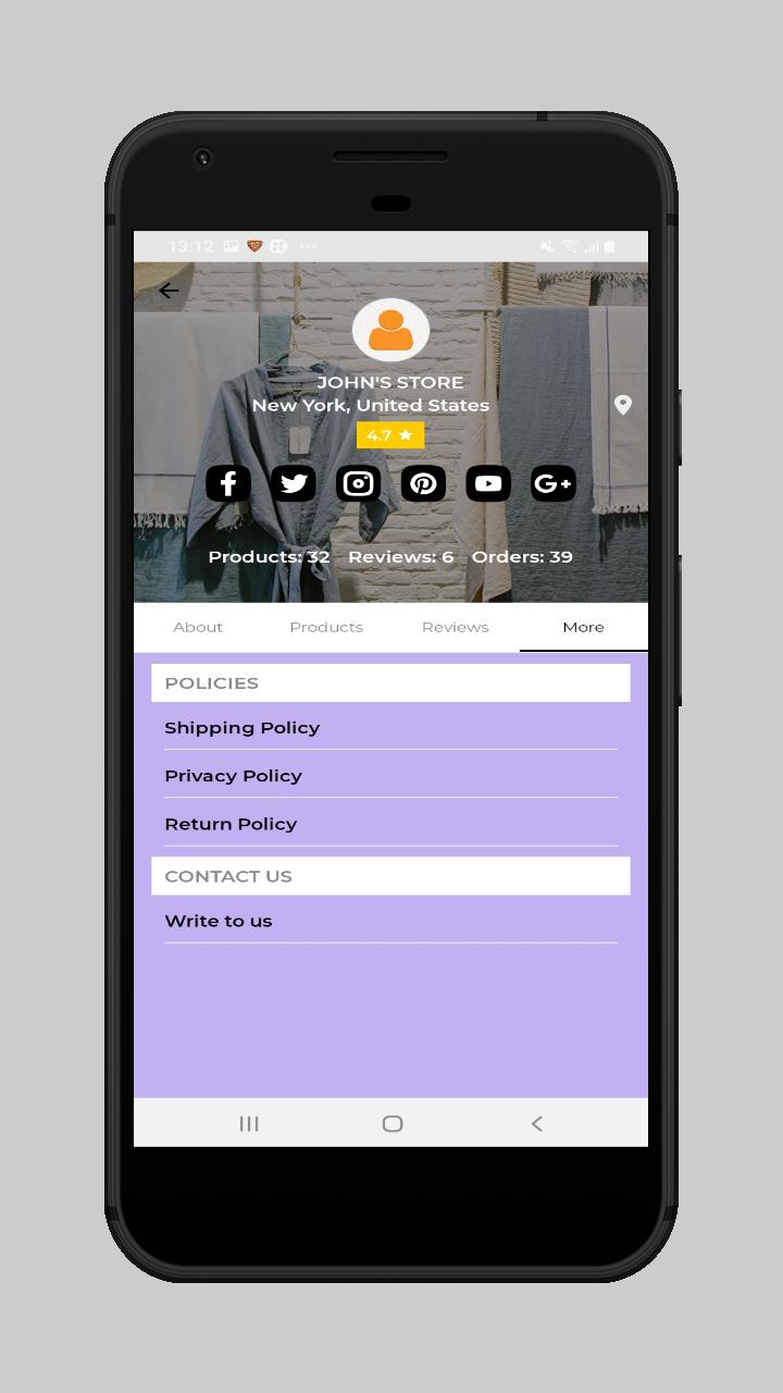 webkul-magento2-ecommerce-marketplace-mobile-app-marketplace-more-section