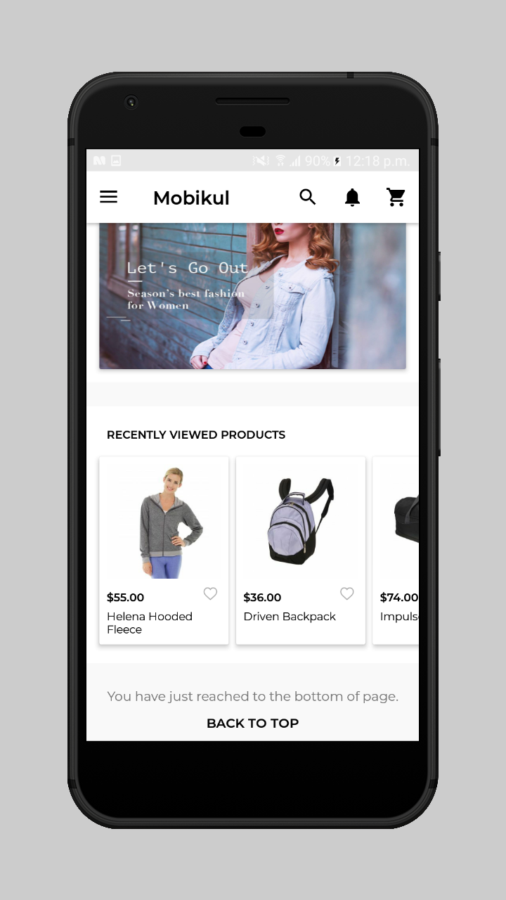 webkul-magento2-ecommerce-marketplace-mobile-app-recently-viewed-products