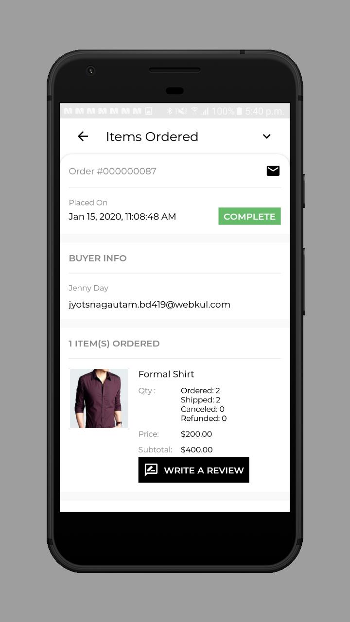 webkul-magento2-ecommerce-marketplace-mobile-app-seller-order-status-complete
