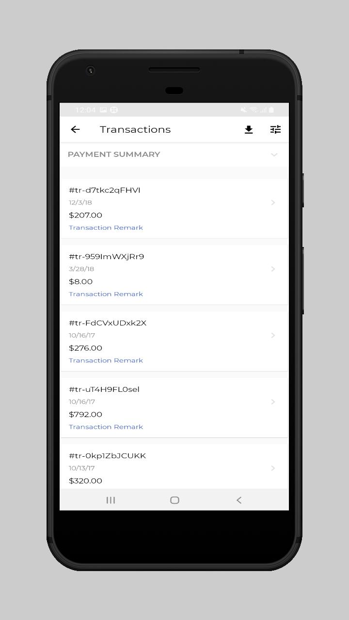 webkul-magento2-ecommerce-marketplace-mobile-app-seller-transaction-list