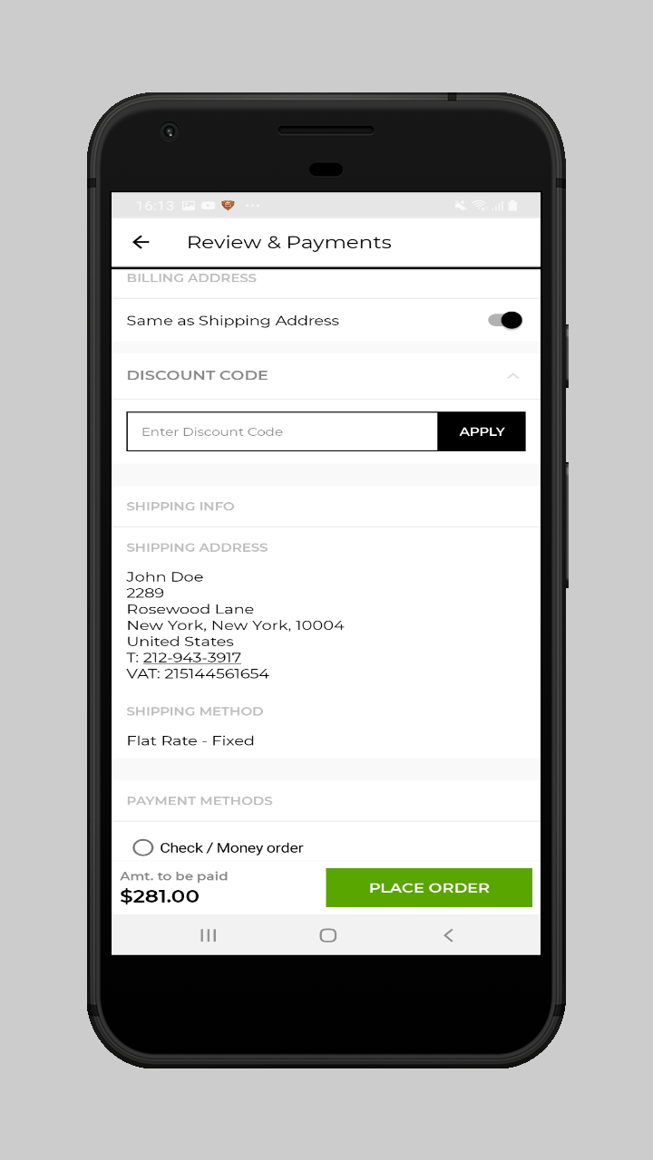 webkul-magento2-ecommerce-marketplace-mobile-app-user-review-and-payment