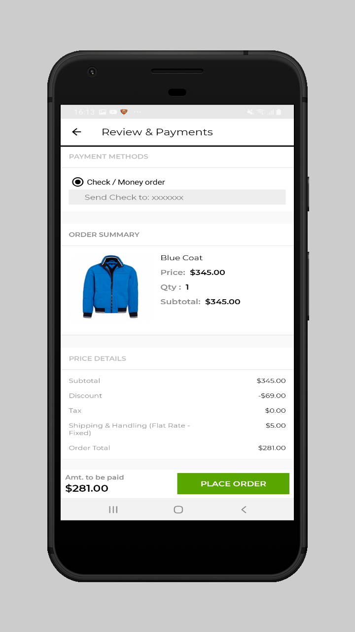 webkul-magento2-ecommerce-marketplace-mobile-app-user-select-payment