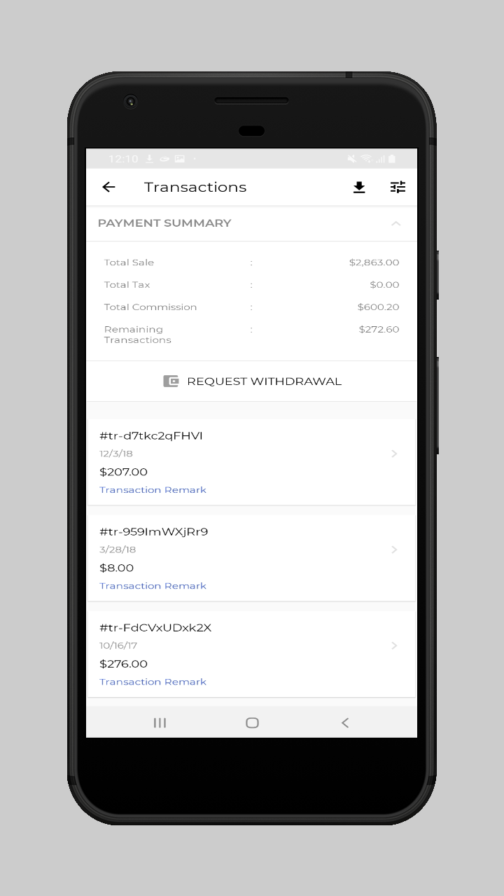 webkul-magento2-ecommerce-marketplace-mobile-app-withdrawal-request