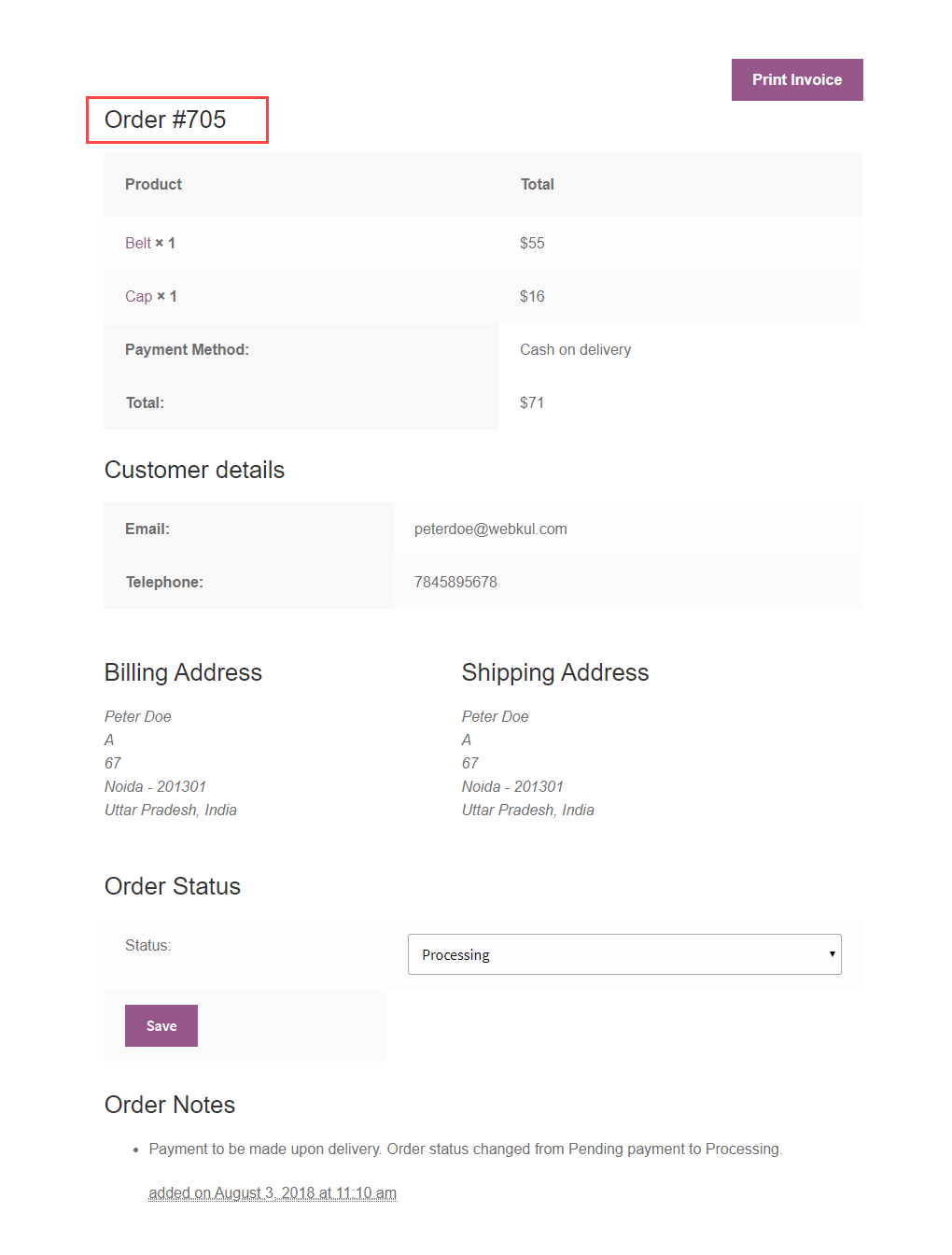 WordPress WooCommerce Marketplace Split Order [User Guide]