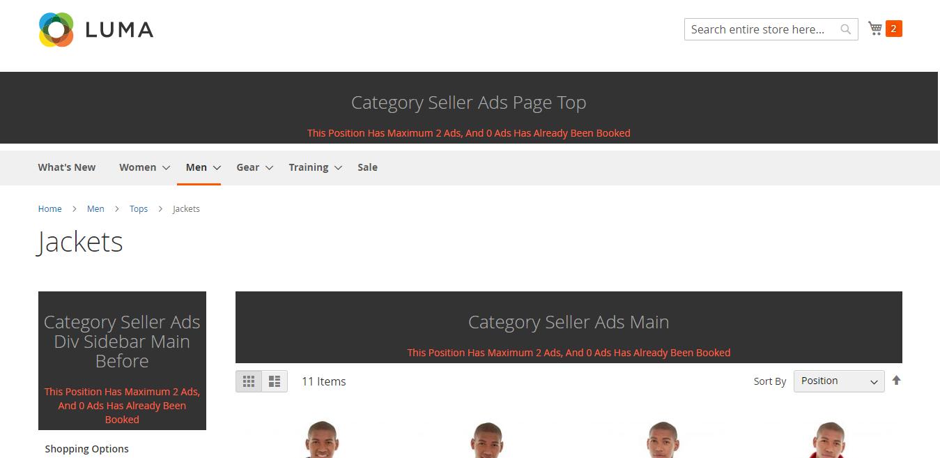 Category-Seller-Ads