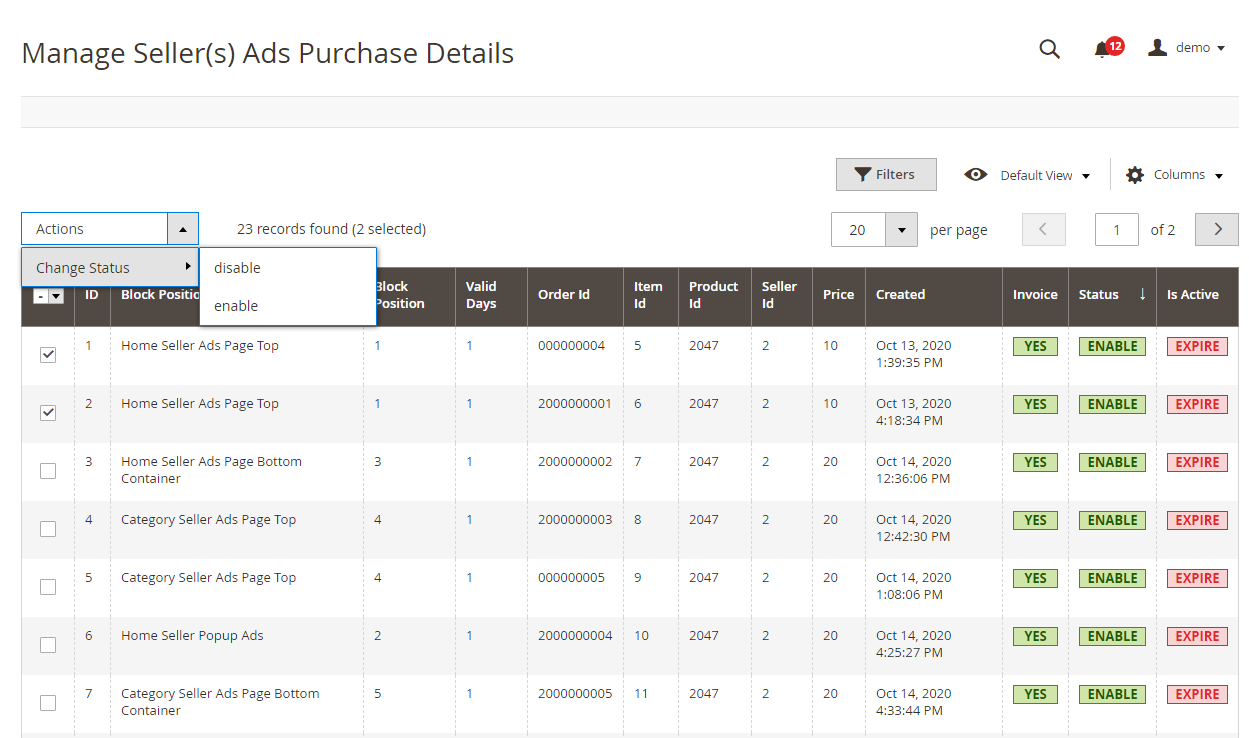 Manage-Seller-s-Ads-Purchase-Details-Advertisment-Manager-Marketplace-Management-Magento-Admin12