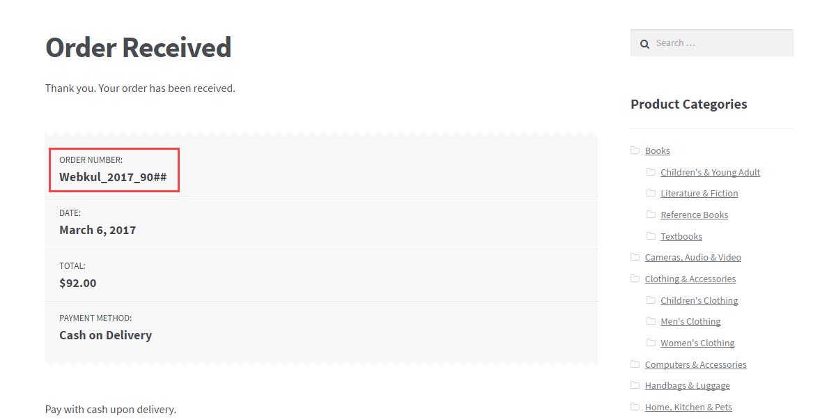 WordPress WooCommerce Custom Order Prefix