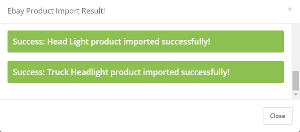 import ebay motors products - result